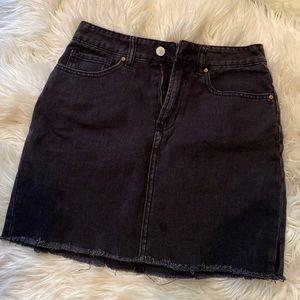 Black Denim Pacsun Skirt